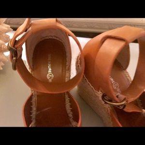 aa51a4c0fb3 Treasure   Bond Shoes - Treasure Bond Nordstrom Straw Wedges 8.5